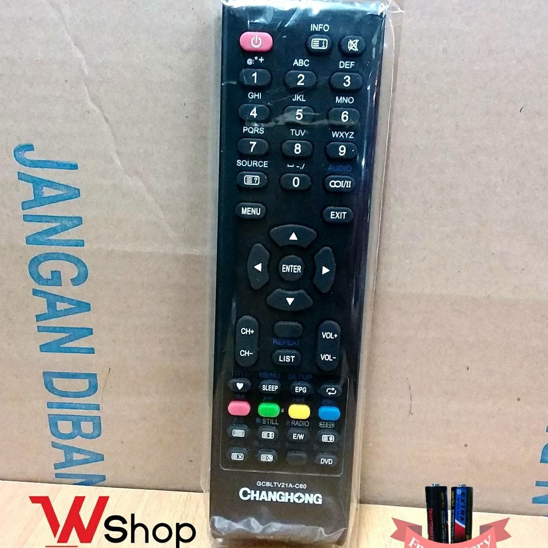 REMOT TV LCD LED CHANGHONG - ORIGINAL