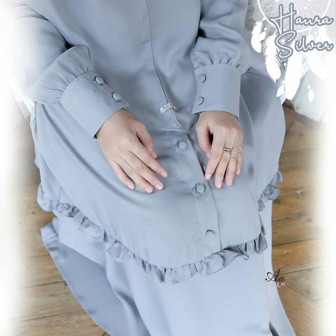 Gamis Haura By Aden Membeli Jualan Online Baju Muslim Jumpsuit Dengan Harga Murah Lazada Indonesia