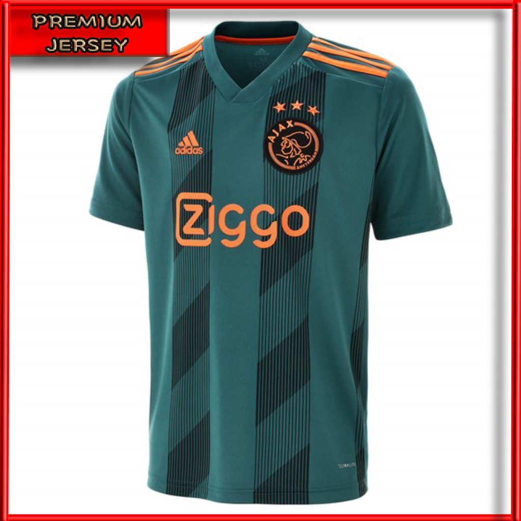 Jersey Bola Ajax Amsterdam Away 2019 2020 Grade Ori Import Baju Bola Aja Away Kualitas Terbaik Lazada Indonesia