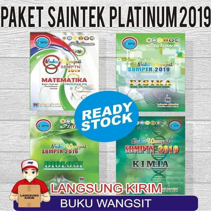 PAKET SAINTEK PLATINUM / SBMPTN 2019 / BUKU WANGSIT