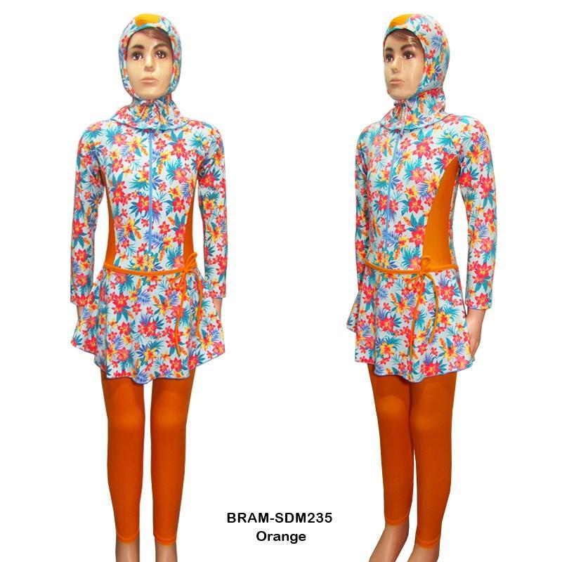 Rainy Collections Baju Renang Anak 6-10 Tahun Muslim Motif Bunga