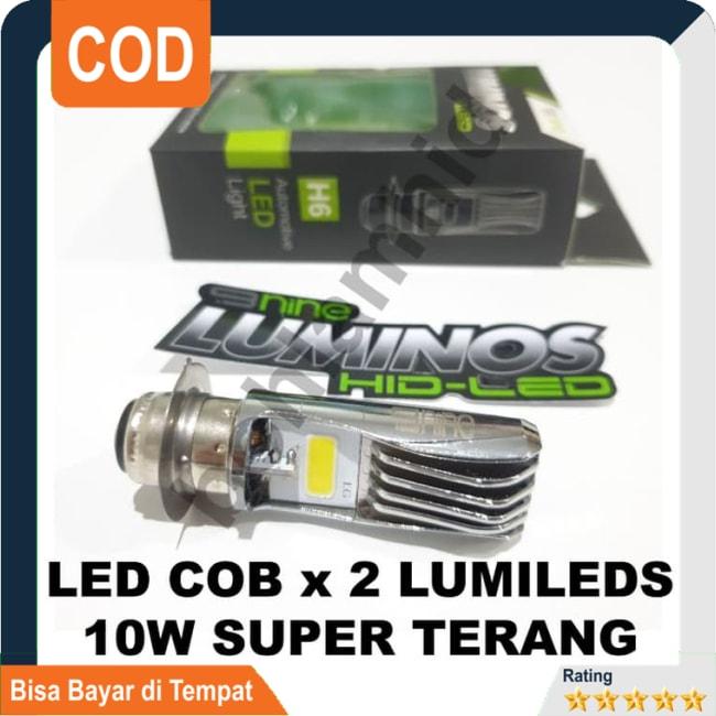BISA COD!!!Lampu Motor LED Luminos Honda Beat ESP FI 9NINE PNP H6 M5 T19 Putih || Lampu Motor || Bhid3