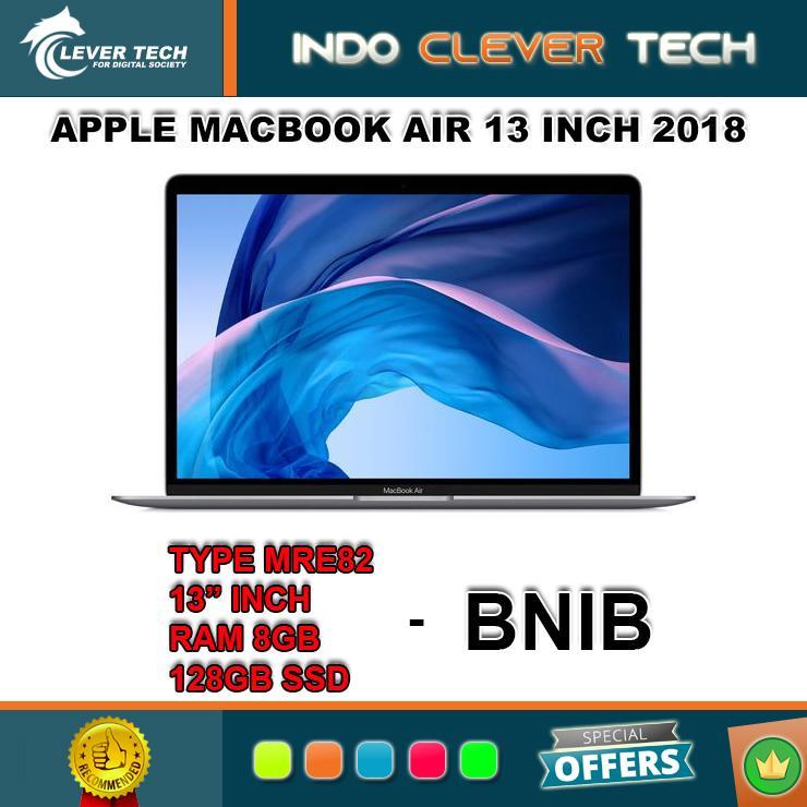 Apple MACBOOK AIR 13 Inch 2018 Type MRE82 RAM 8GB Core I5 - 128GB SSD