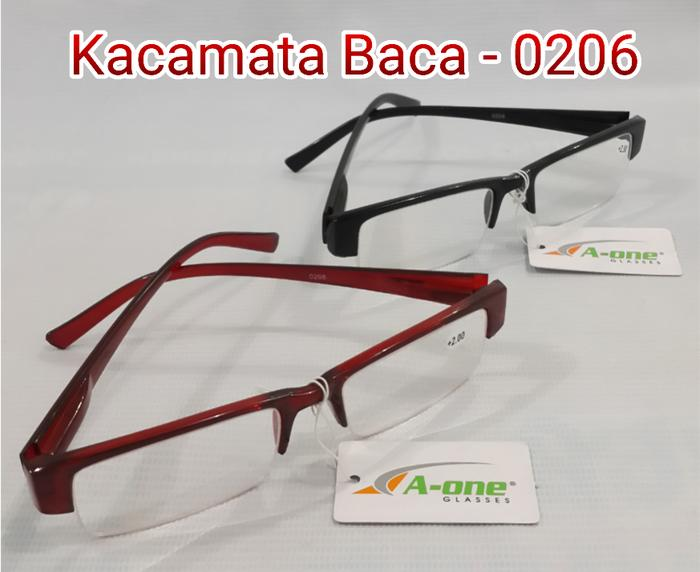 Kacamata Baca Plus (+) XK 0206 Pria   Wanita +1.00 79d526f56b