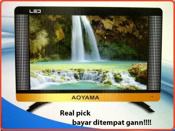LED TV AOYAMA 17  USB, HDMI, VGA/ PC. BARU full HD