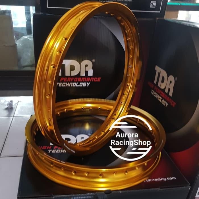 Velg - Rim Tdr W Shape Ring 17 X 185 / 215 Warna Gold