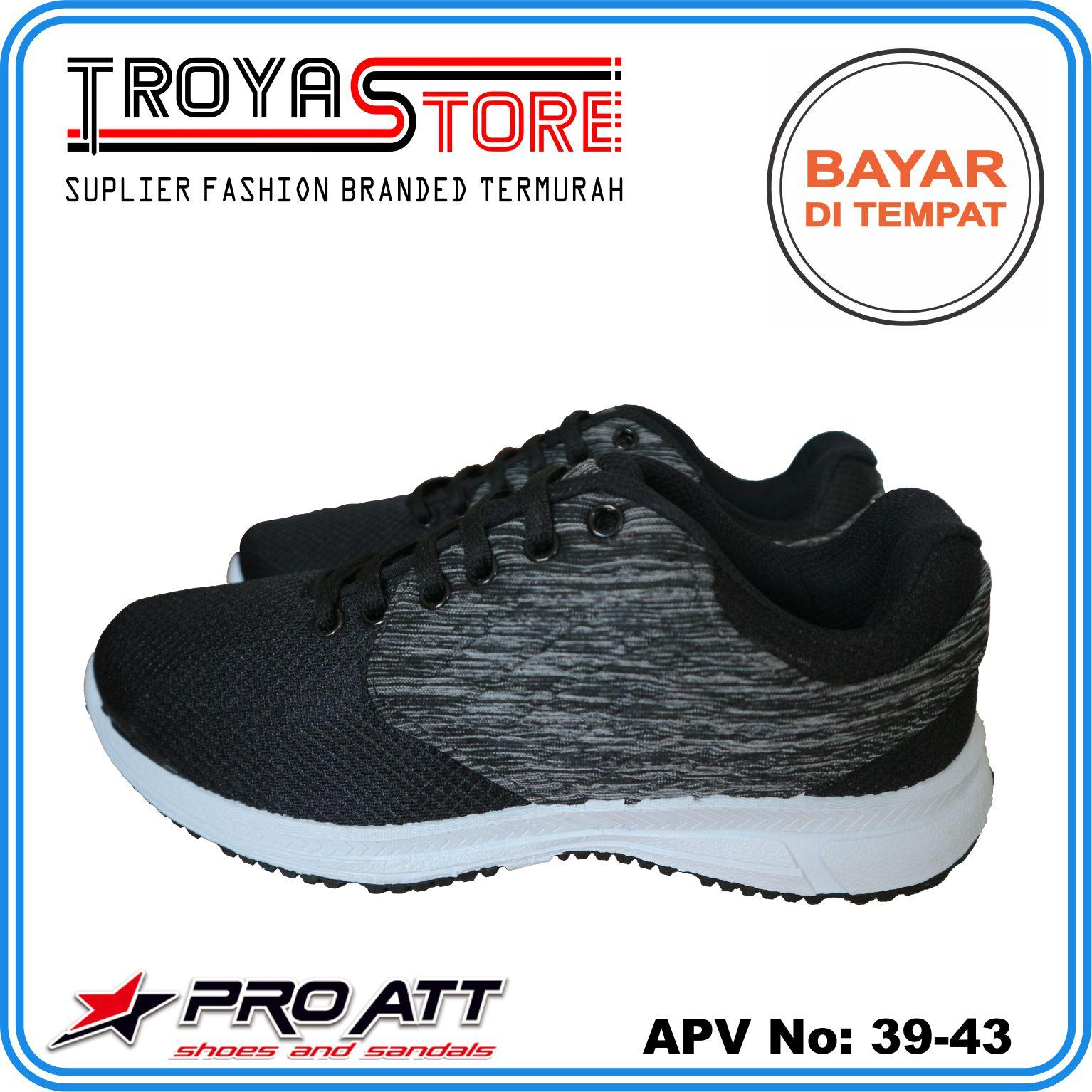 TROYASTORE - PRO ATT Sepatu Pria Sneaker Sport Hitam Putih Original High  Quality   Sepatu Pria 1dc2a71d11