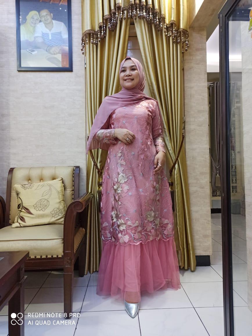 Gamis Tulle Rok Tutu Baju Gamis Modern Bahan Tulle Original Seragam Pesta Mewah Dan Elegan Bisa Cod Lazada Indonesia