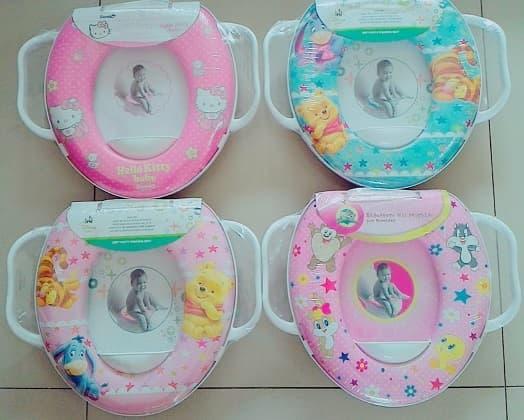 Dudukan Toilet Baby Soft Baby Potty Seat Handle Pispot Bayi By Grosir Sepatu Anak & Bayi.