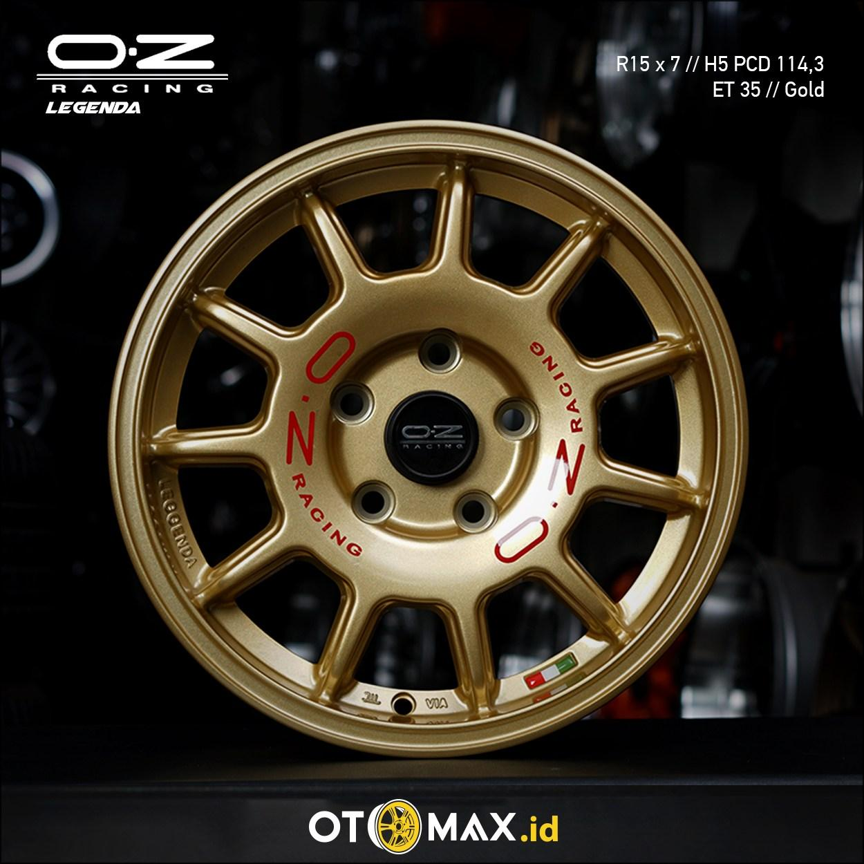 Velg Mobil OZ Racing Legenda (YD) Ring 15 Gold