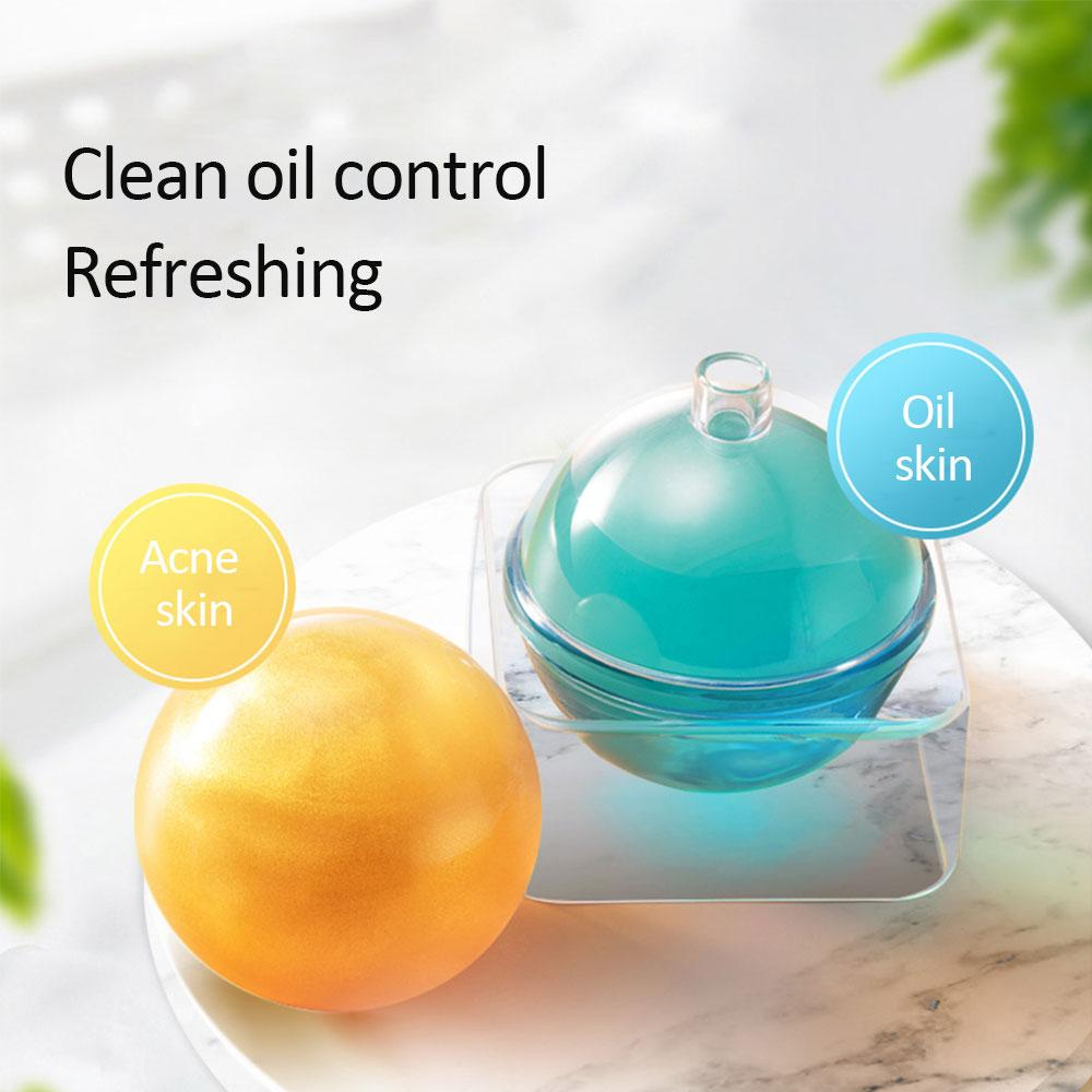 SEAFLAKER Deep Cleansing Face Oil Control moisturizing Acne Radiance Net Cleansing Ball