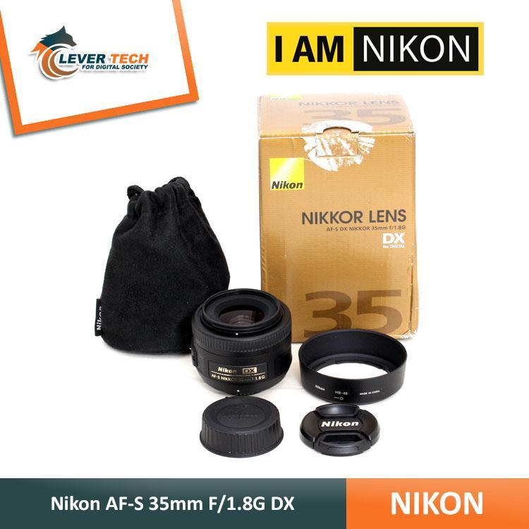 Lensa Nikon AF-S 35mm F/1.8G DX Lensa Focus For D3100/D3200/D3300/D3300/D5200/D5300