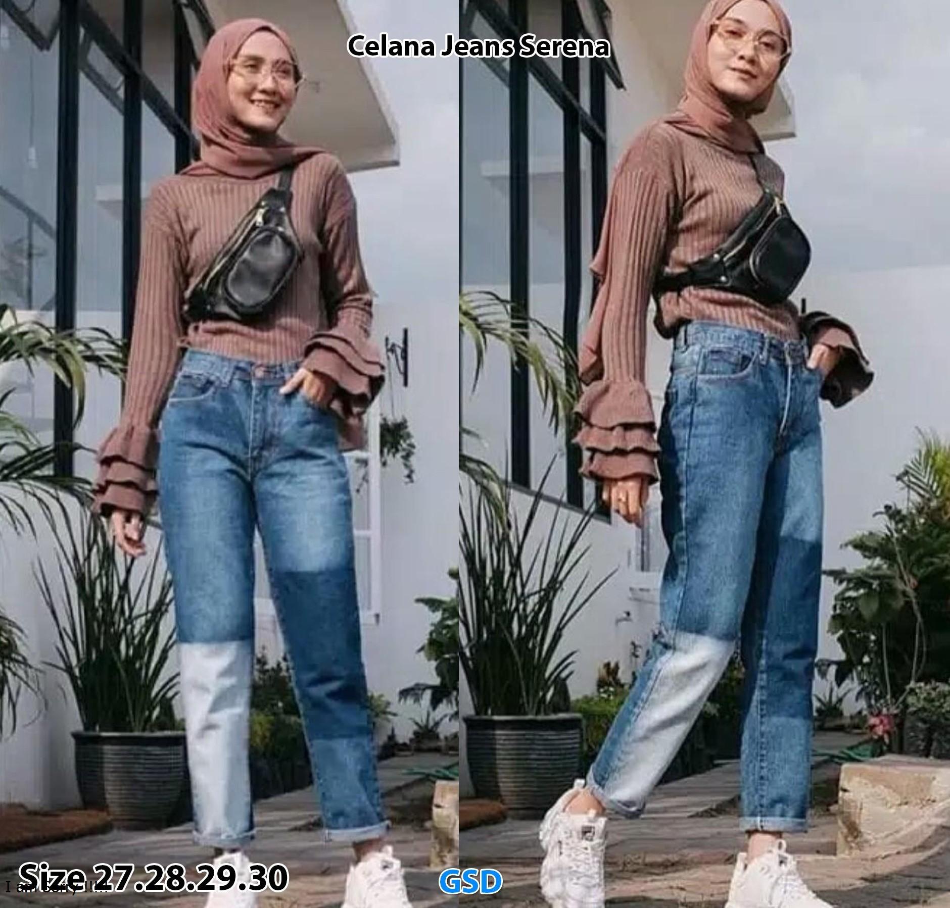 NCR-Celana Wanita/ Celana Jeans Wanita/ Celana Panjang Wanita/ Celana Jeans Serena