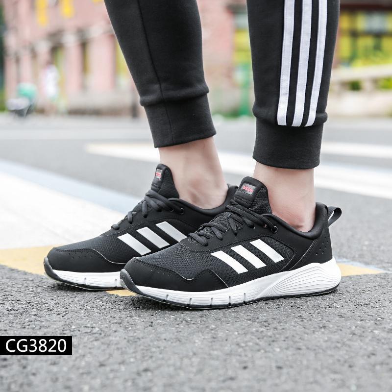 Adidas Adidas sepatu Pria 19 Musim Semi item baru olahraga santai Sepatu  olah raga CG3820 3b34bb2b96