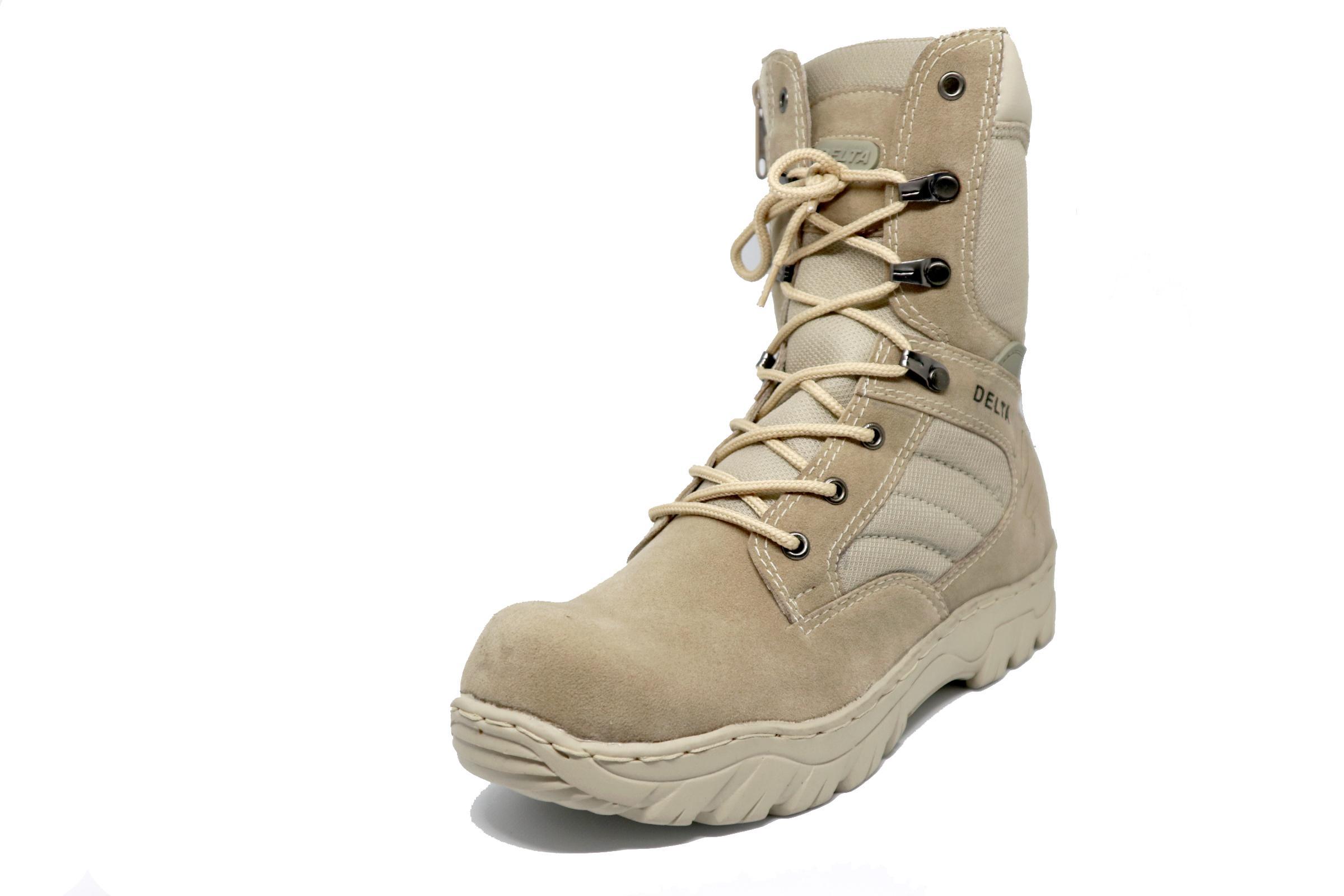 Sepatu Delta foce Army safety cream 8 inchi premium adventure 01b14e0ad2