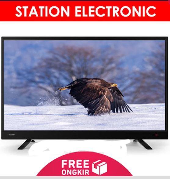 TOSHIBA FULL HD TV LED USB Movie 43 Inch - 43L3750 - Hitam - Khusus JABODETABEK