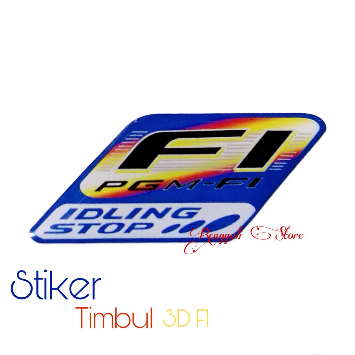 Stiker timbul emblem logo fgm fi 1 pcs emblem logo fgm fi
