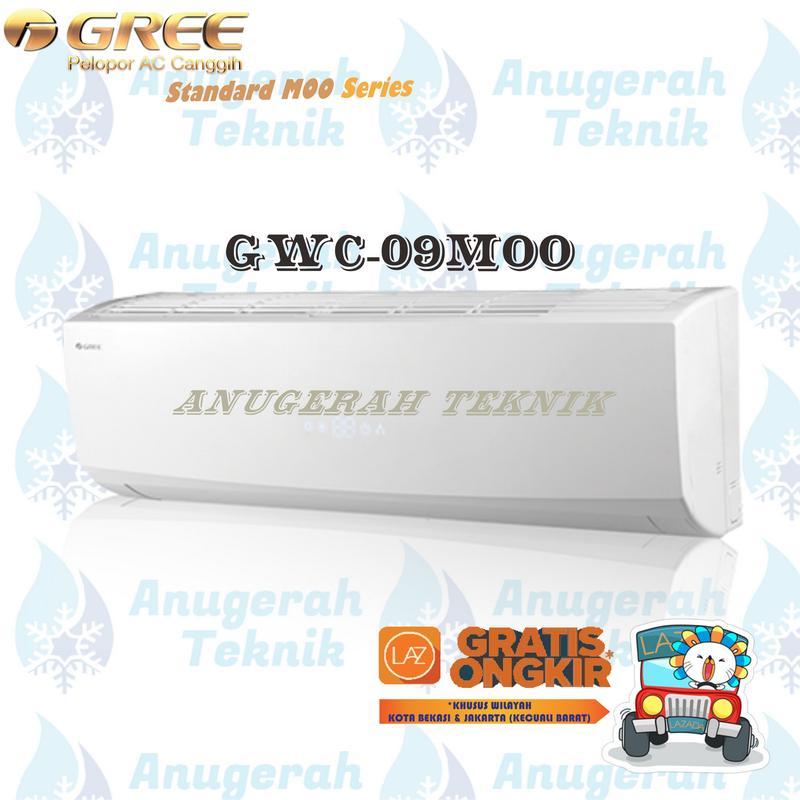 Gree AC Split 1 PK R410A Standar MOO Series Non Inverter - GWC-09MOO