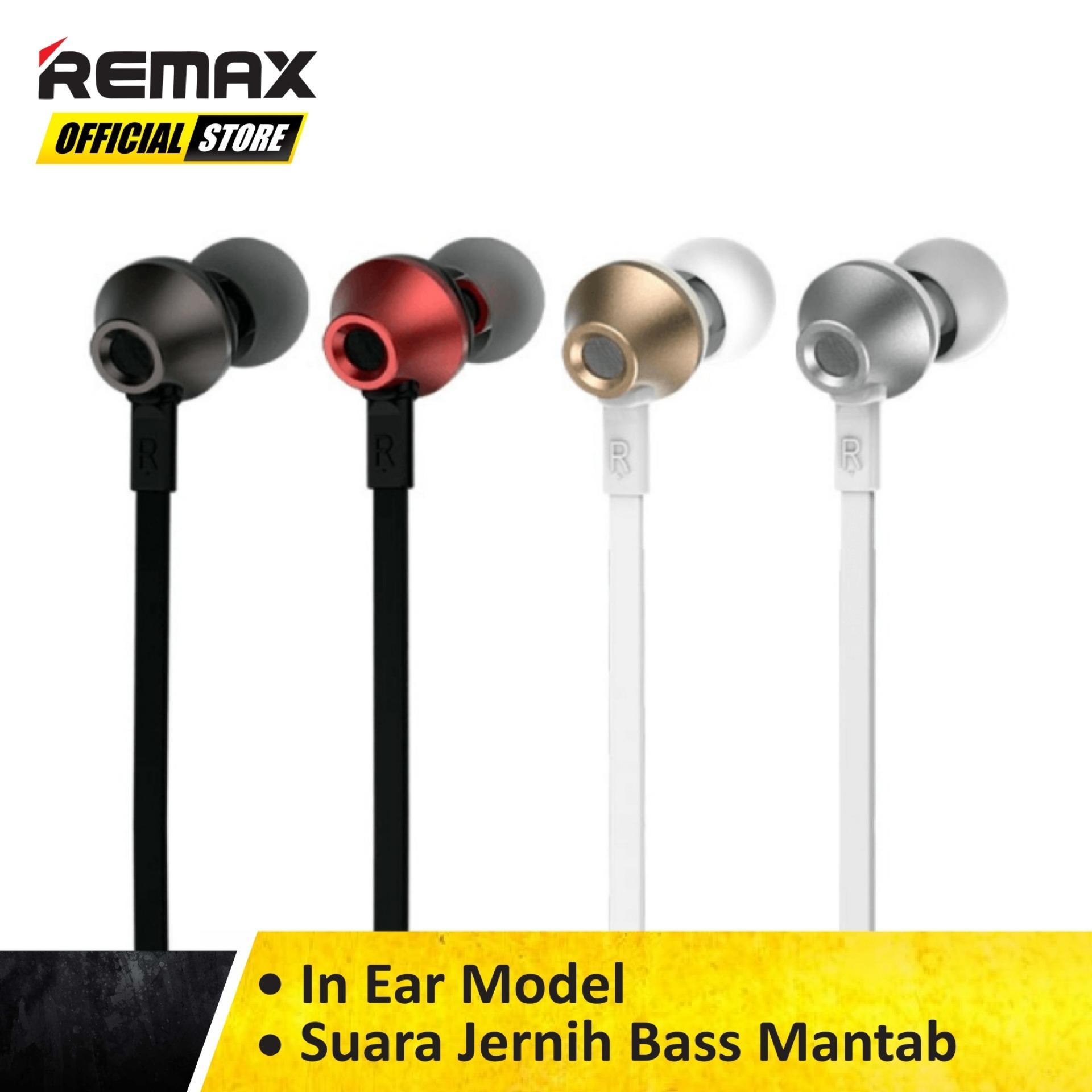 Remax Earphone Functional RM-610D Original Garansi Resmi / Earphone Murah / Earphone Terbaik /