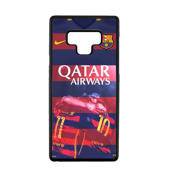Casing For Samsung Galaxy Note 9 BARCA Qatar Airways Football Club Team L1979