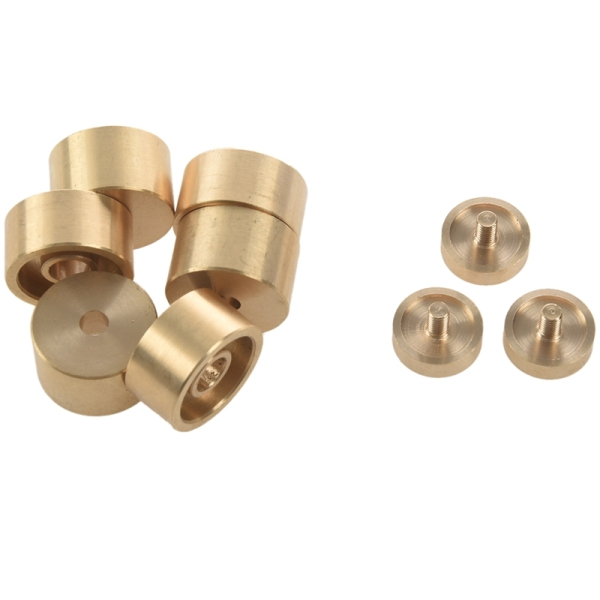 1 Set Trumpet Valve Finger Buttons Trumpet Parts Accessories Musical Instrument Accessories for Trumpet -Golden Malaysia