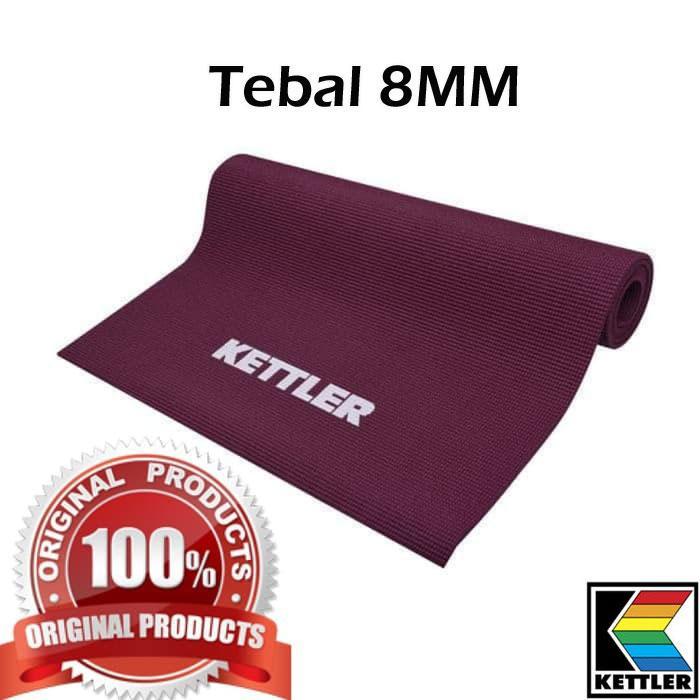 Matras Yoga / Matras Yoga Kettler Original 8Mm Ungu ...