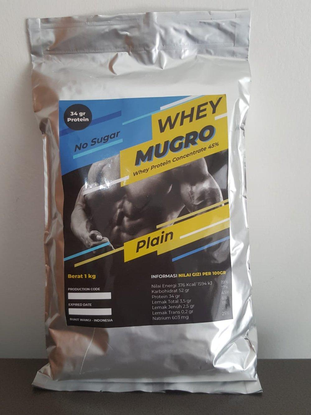 Whey Protein Concentrate Susu Milk Powder 1 Kg By Berkah Shop14.