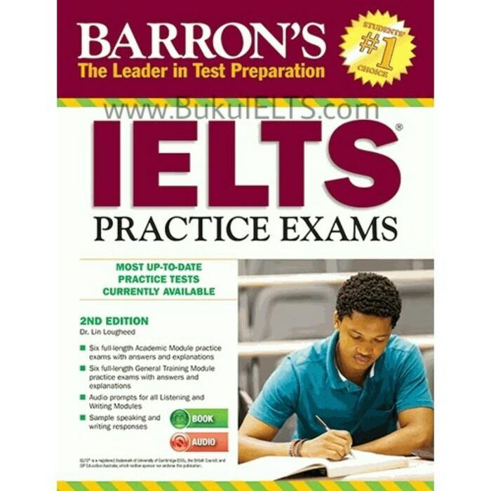 Barrons Ielts Practice Exams 2nd Edition With Audio Cd By Bukutoeflcom Group.