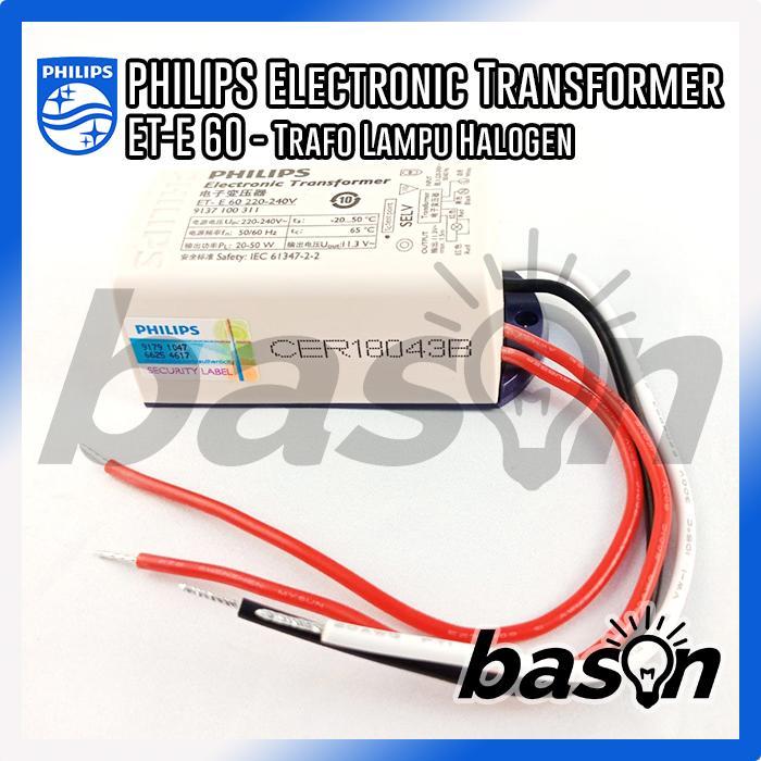 Philips ET-E 60W LED - Transformer untuk Halogen 12V