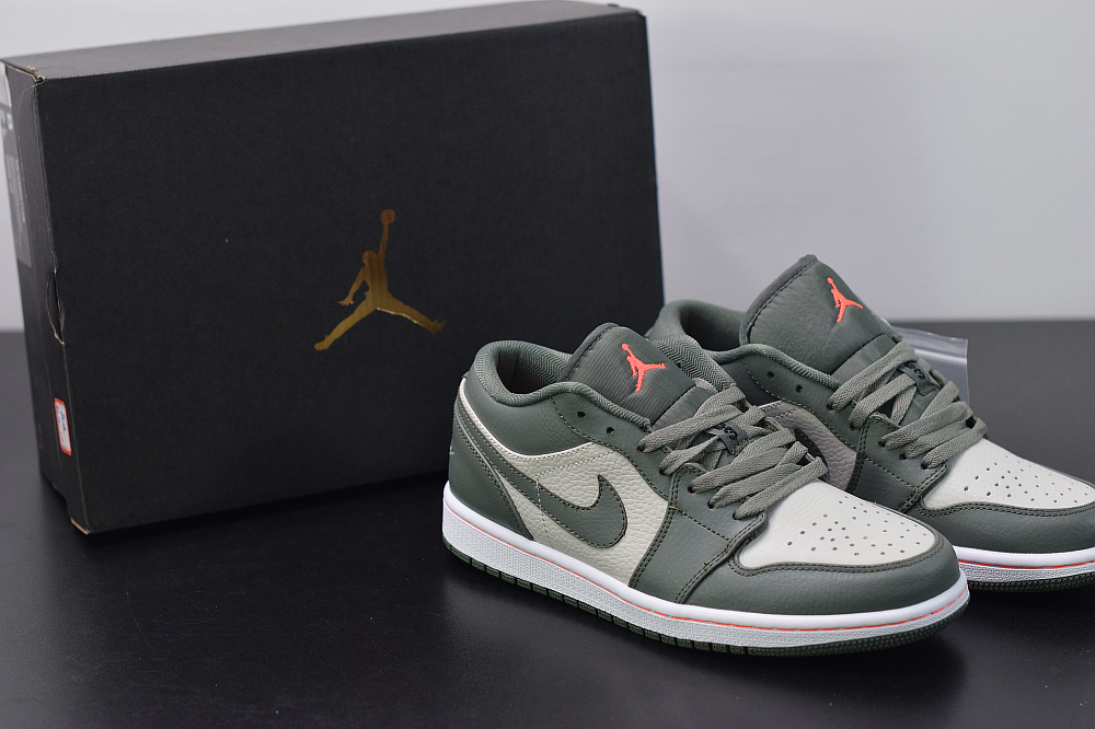 Aj 1 Low Olive Green Basketball Shoes