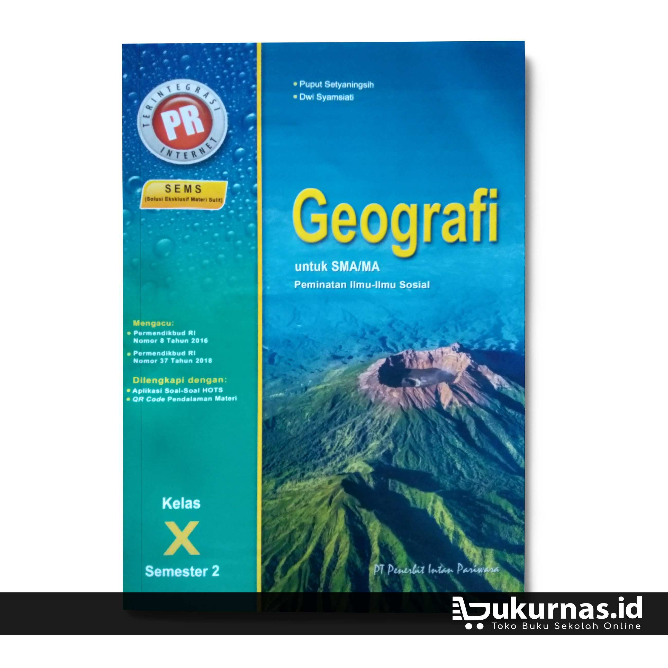 Buku Lks Geografi Kelas 10 Semester 2 Peminatan K13 Intan Pariwara Lazada Indonesia