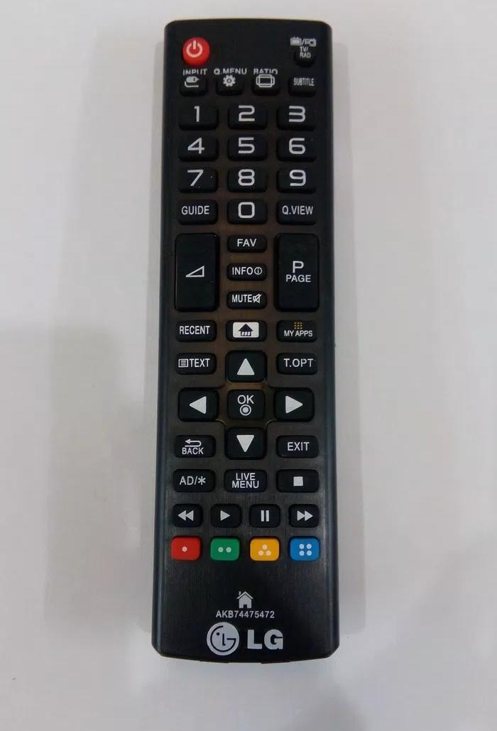REMOTE TV / REMOT MEREK LG LED/LCD SMART AKB74475472