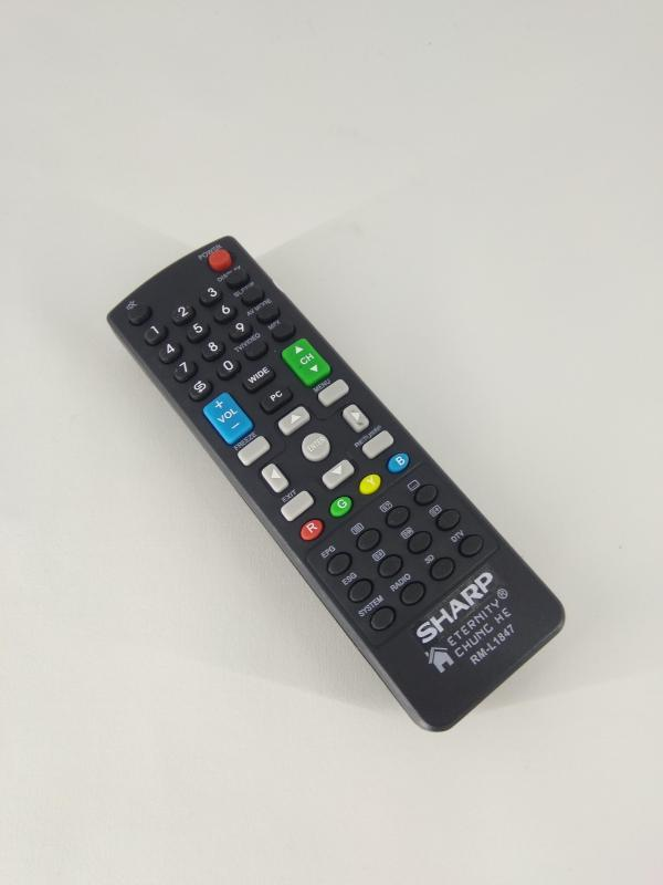 Remot Remote TV Sharp Aquos LCD LED 3D Original Pabrik / KW