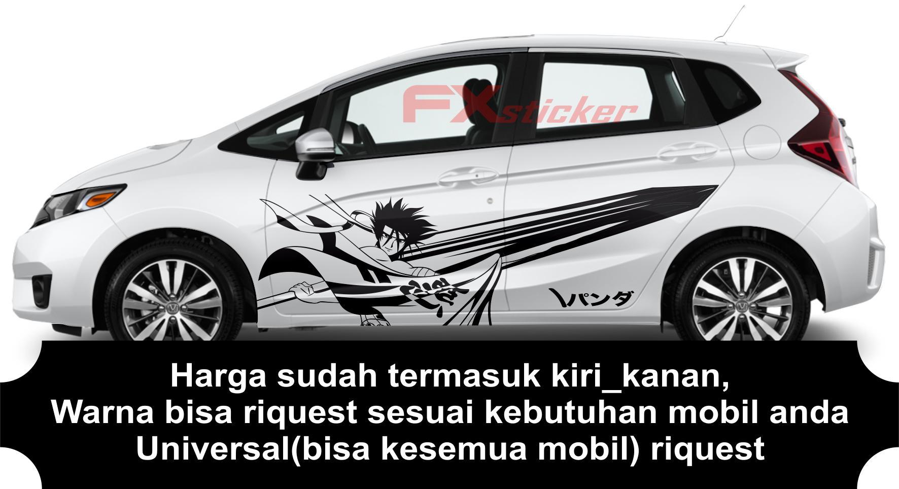 Stiker Termurah Stiker Mobil Cutting Sticker Striping Animasi Samurai Cocok Kesemua Mobil Compatible All Car Lazada Indonesia