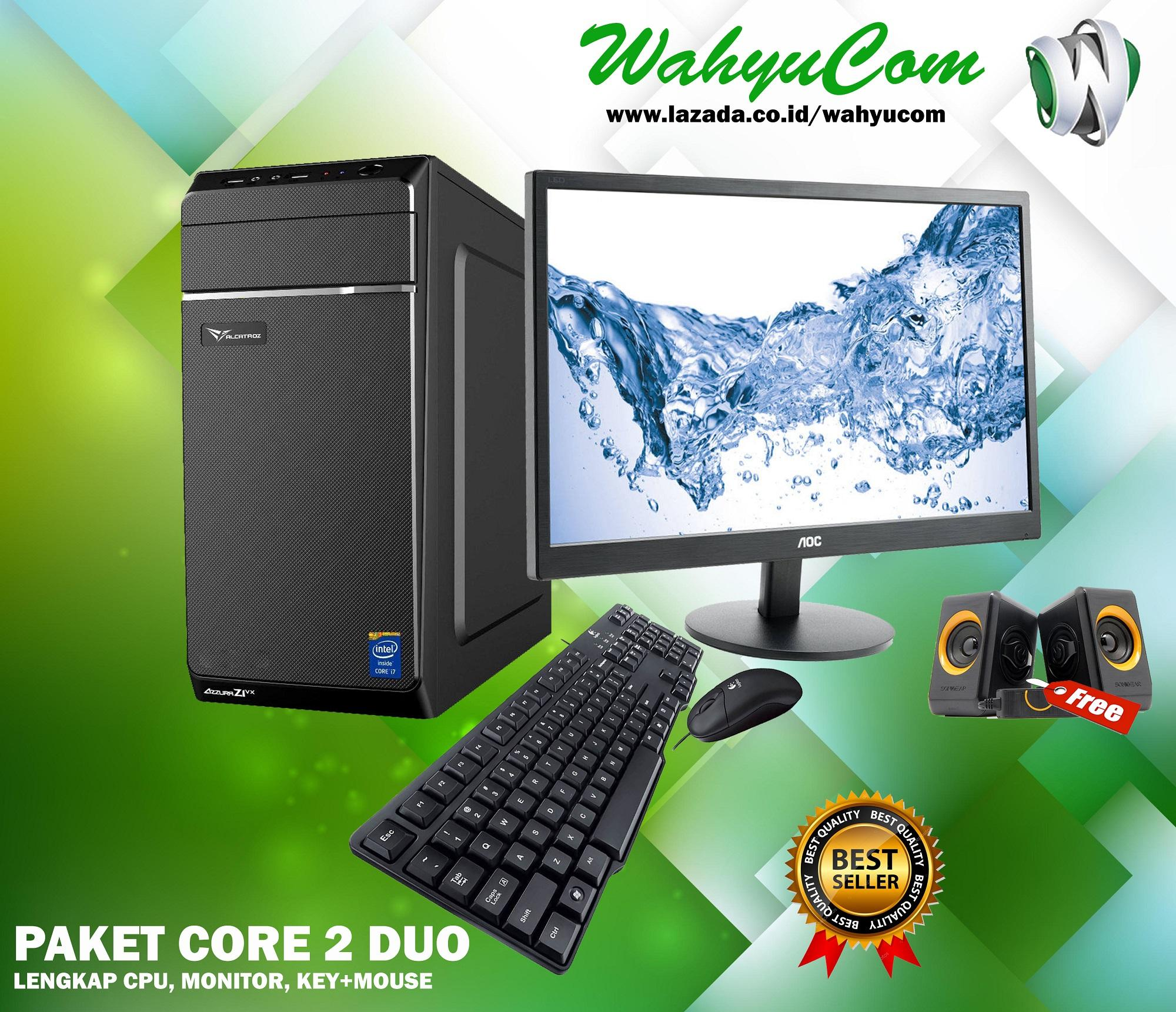 Komputer Core 2 Duo By Wahyucom.