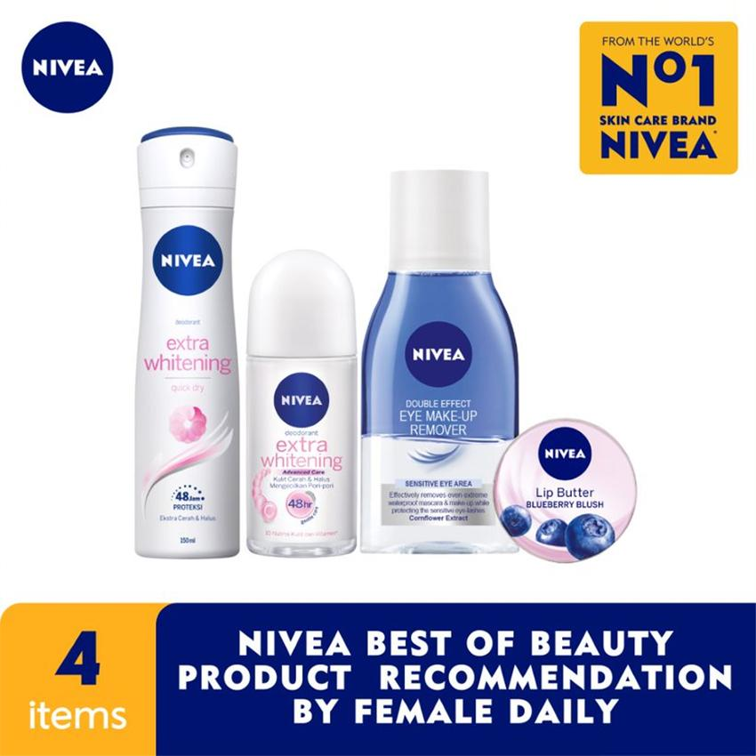 Nivea Best Of Beauty Product Reccomendation By Female Daily By Lazada Retail Nivea.
