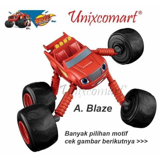 BLAZE AND THE MONSTER MACHINE TOYS MAINAN MOBIL BLAZE