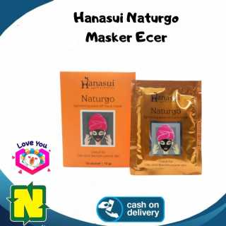Hanasui Naturgo Masker Lumpur Wajah Ecer - Warna Hitam - Masker Naturgo thumbnail