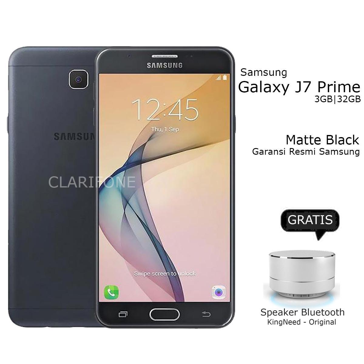 Samsung Galaxy J7 Prime - Layar 5.5 inch - Fingerprint - 32GB - Matte Black