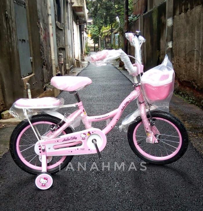 PROMO Sepeda Mini Polygon 16 Hello Kitty