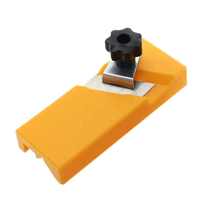Gypsum Board Hand Plane Abs Plastic Plasterboard Planing Tool Flat Square Drywall Edge Chamfer Woodworking (A)