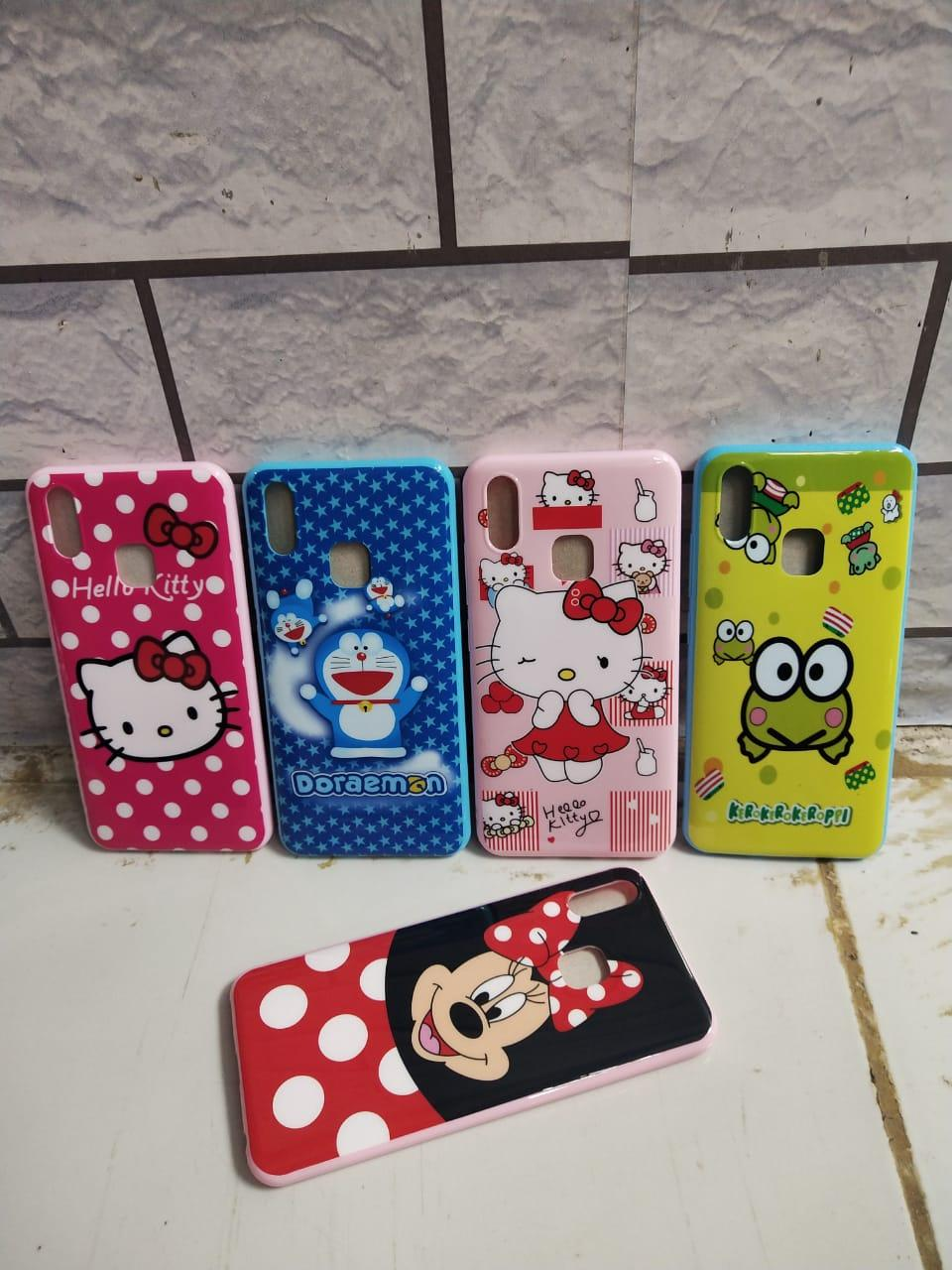 Case / Softcase Karakter / Motif Cewe CANTIK For VIVO Y91 (