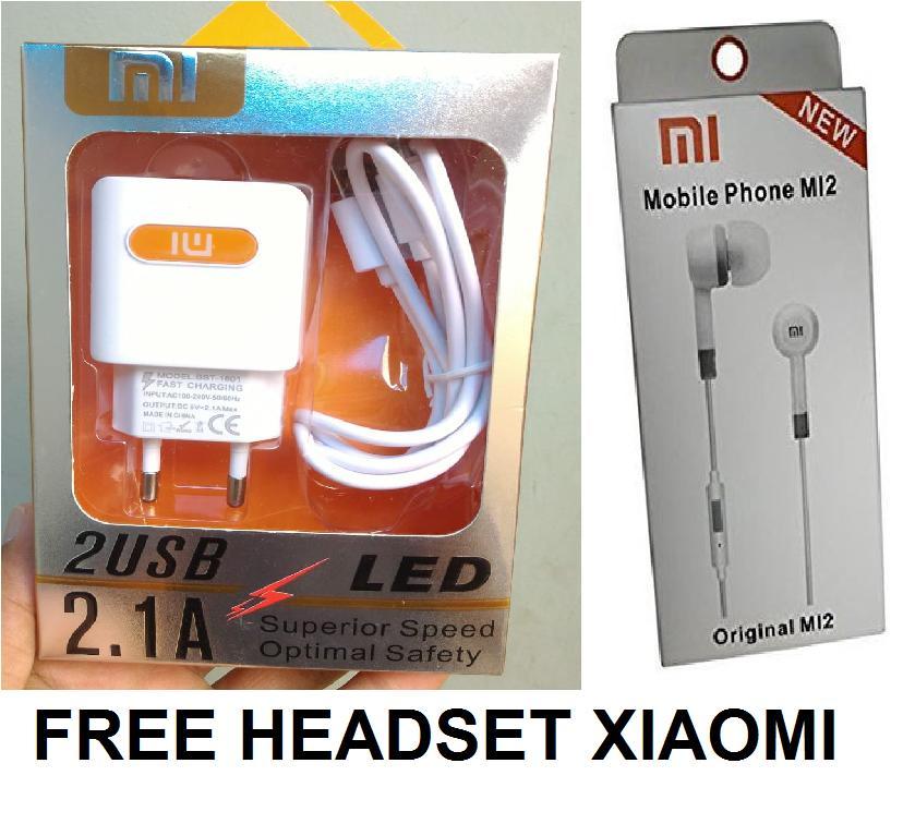 Xiaomi xiomi Charging Charger Casan Carger Xiaomi For Redmi Note 1 2 3 4 2S Note1 Note2 Note3 Note4 1S Redmi2 / Mi4i Mi 4i / 4x 4A gratis HeadSet stereo_Ars