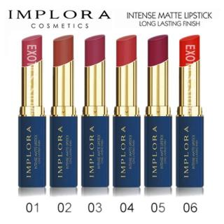Lipstik IMPLORA Intense Matte Lipstick Original BPOM thumbnail