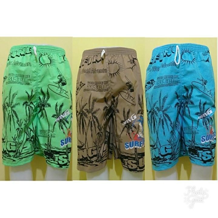 Celana Kolor - Celana Santai Pria/Wanita - Celana Pantai Warna Random - Narecho City