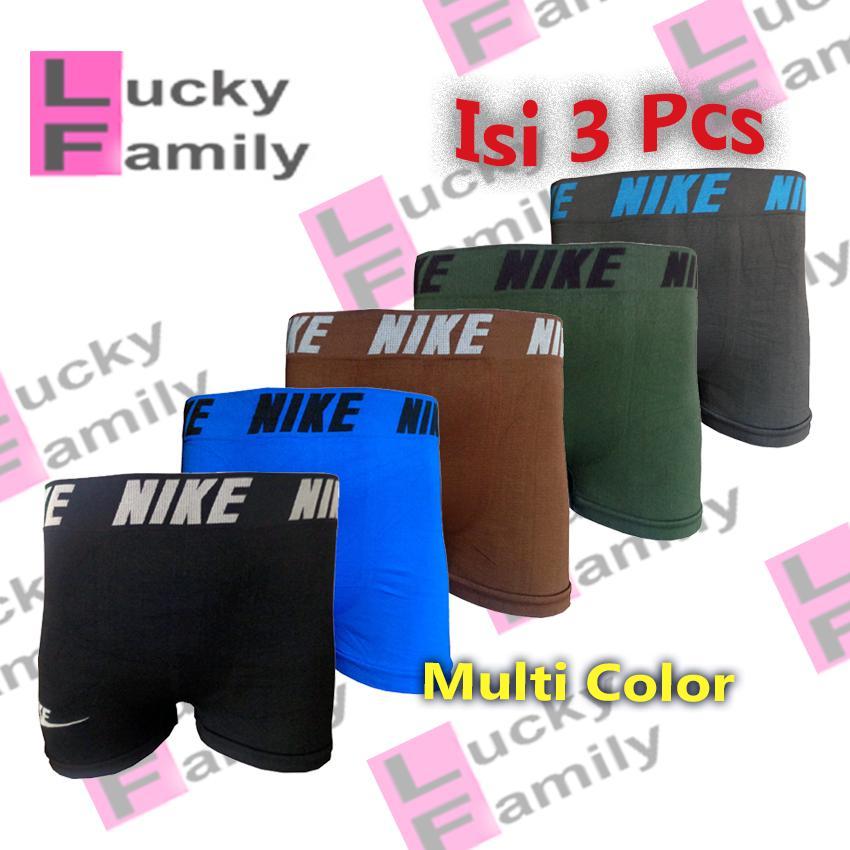 Lucky Family Underwear Celana Dalam Pria Model BoxerSporty Free Size Fit to  XL 9bf1befa9c