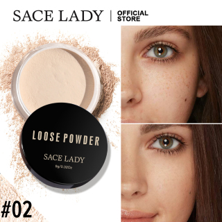 SACE LADY Kosmetik Rias Bedak Matte Kosmetik Rias Wajah Profesional Kontrol Minyak Bedak Longgar Matte thumbnail