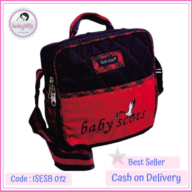 Baby Scots Tas Perlengkapan Bayi Bordir Kecil - Babyklik By Babyklik.