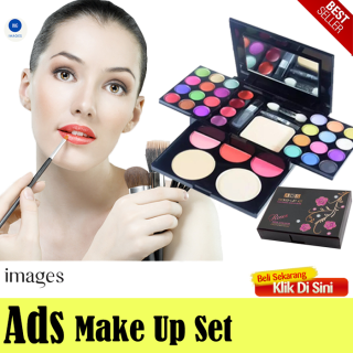 [PROMO BISA COD] Eye Shadow Pallete Mix Warna - Ads Eyeshadow Pallete Make Up Set Lengkap 1 Pack - 42 Warna thumbnail