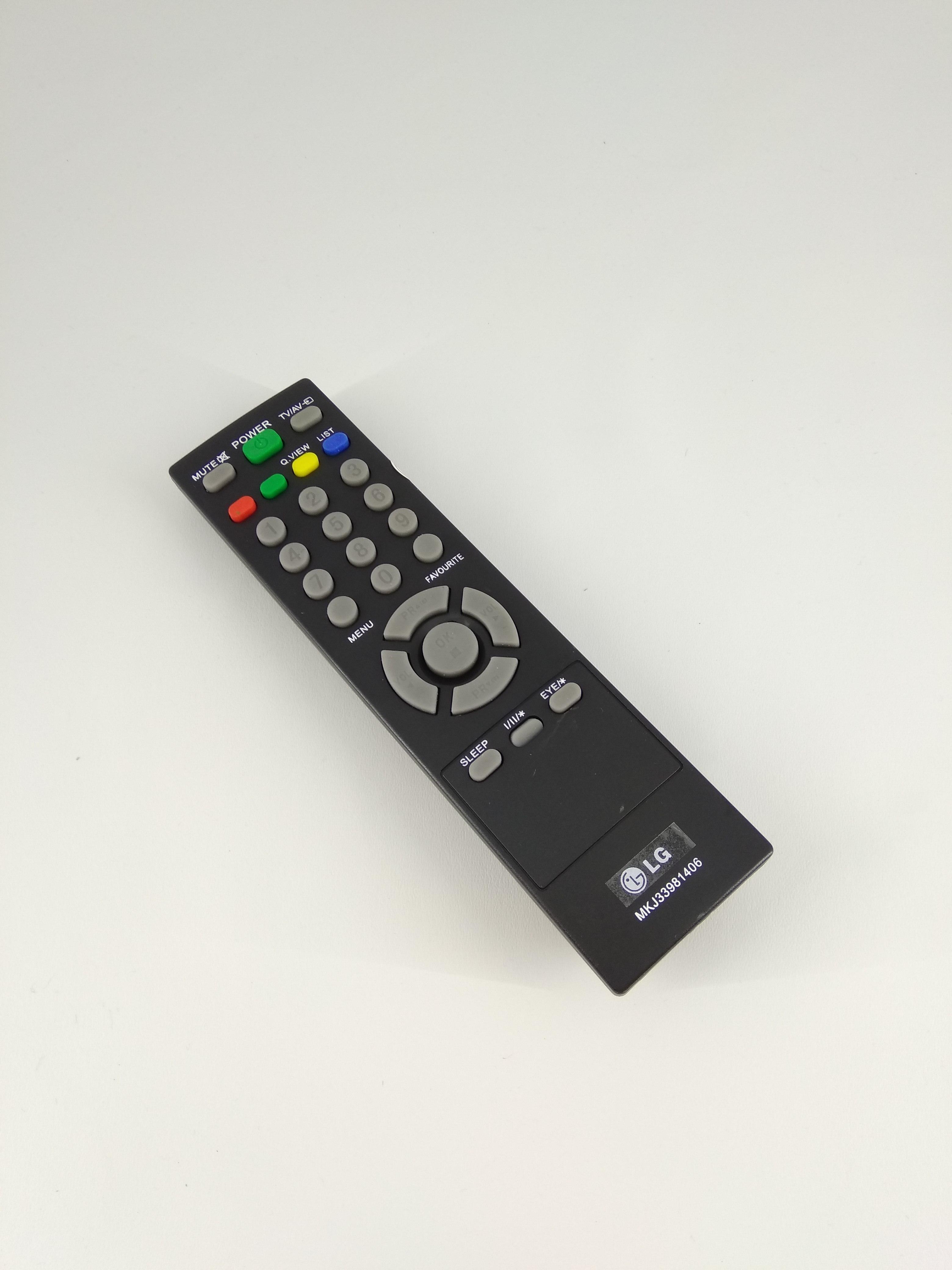 Remot Remote TV LG Blackpearl Tabung Slim Flat LCD MKJ33981406 Original Pabrik / KW